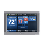 Trane Comfortlink II Color Touchscreen Thermostat XL950
