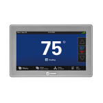 Trane Comfortlink II Color Touchscreen Thermostat XL1050